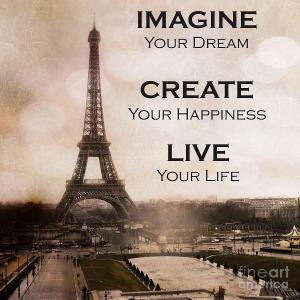 paris-eiffel-tower-sepia-typography-life-quotes-kathy-fornal